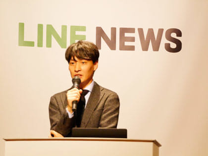 LINE株式会社 上級執行役員 メディア担当の島村 武志氏