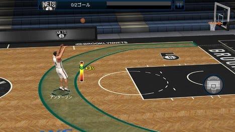 NBA LIVE Mobile バスケットボール:ポイント3