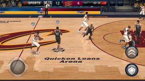NBA LIVE Mobile バスケットボール:ポイント5