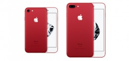 iPhone 7とiPhone 7 Plusの赤色(RED Special Edition)