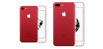iPhone 7とiPhone 7 Plusの赤色(RED Special Edition)が3月25日に登場!
