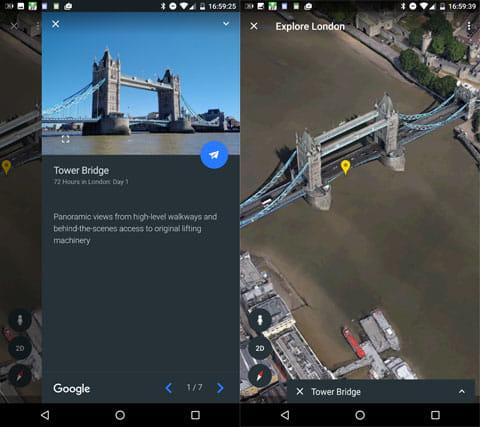 Googleおすすめのロンドンのツアー