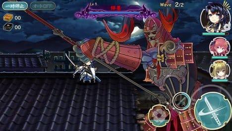 天華百剣 -斬-:巨大なボスモンスターとのバトルも。