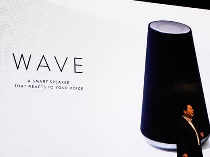 AIを搭載した「WAVE」