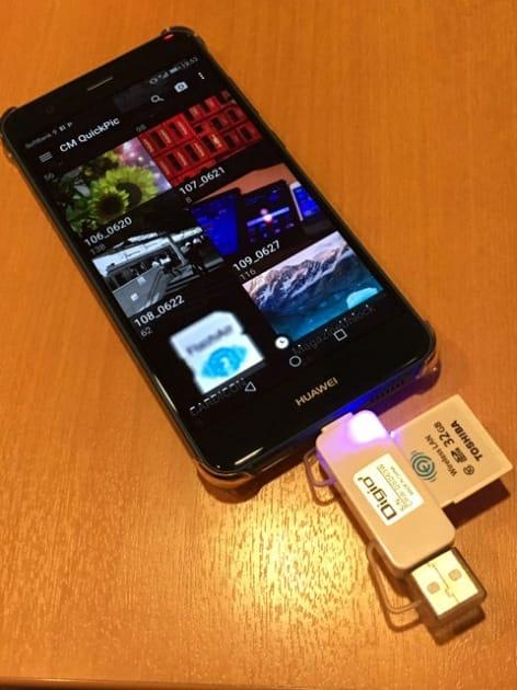 USBホスト機能を搭載し、USBメモリなど利用可能