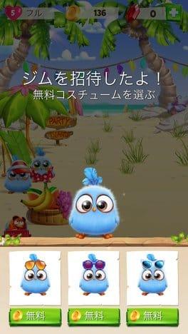 Angry Birds Match:ヒナゲットと同時に衣装もひとつ選べる