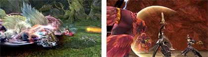 マルチプレイアクションRPG、MMORPGのようなイメージ?