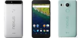 「Nexus 6P」と「Nexus 5X」のOSアップデート