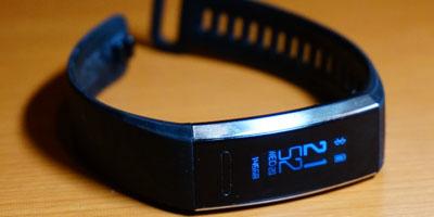 脈拍計とGPSを備えて約1万円!ファーウェイのウェアラブル端末「HUAWEI Band 2 Pro」