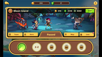 Idle Heroes -無料放置育成RPG:ポイント2
