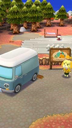 どうぶつの森 ポケットキャンプ:キャンプ場にやってきた