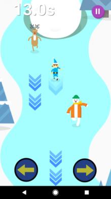 Google サンタを追いかけよう:Googleオリジナルのミニゲーム