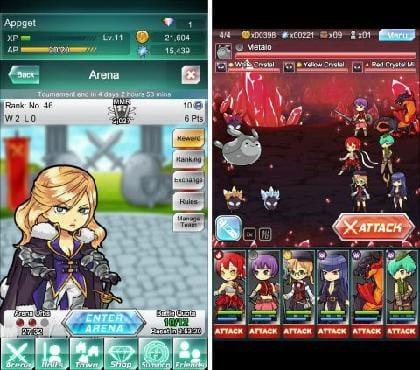 『Warrior Tales Fantasy(ウォリアーテイルズファンタジー)』:アリーナもちょいちょい進めておこう。
