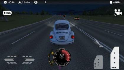 対向車がいなければ、対向車線はパトカー回避に使える!