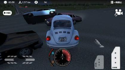 交差点で大事故!事故描写もスピード感増幅に一役買っている。