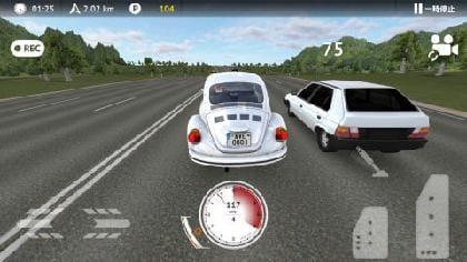 ギリギリで追い抜きポイントを得る…ゲーム中感じる高いスピード感!