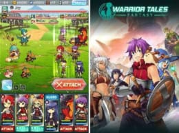 『Warrior Tales Fantasy(ウォリアーテイルズファンタジー)』:キーイラストがJRPGっぽくて良い!
