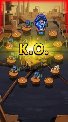相手のHPを削りきれば、K-O-勝利となる。