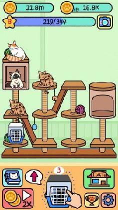同じ猫は掛け合わせて上位に進化させよう。