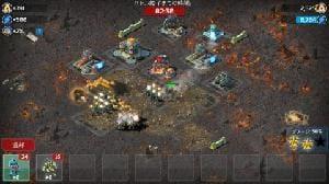 他プレイヤーの作り込んだ基地に軍隊を送り込んで破壊!アツい対戦が楽しめる。
