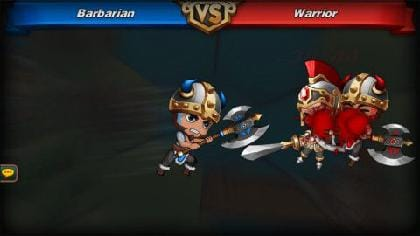 Barbarianの範囲攻撃は便利だがダメージが小さい!使いどころがカギ。