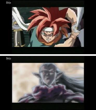 アニメ版のオープニングが収録されている(画像のブレは筆者のスクリーンショットに拠るもの)。
