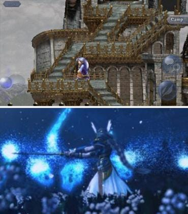 PSP版で新録された3Dムービーも見れる。