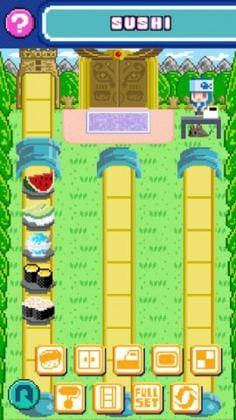 トロピカルな寿司屋にもカスタマイズ可能。