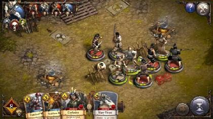 敵に接するとZOCの影響で、移動の際に攻撃を受ける!接近には細心の注意を。