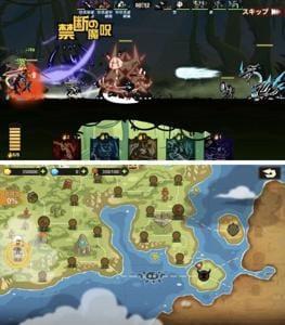 ポップなグラフィックと冒険心を煽るワールドマップ!