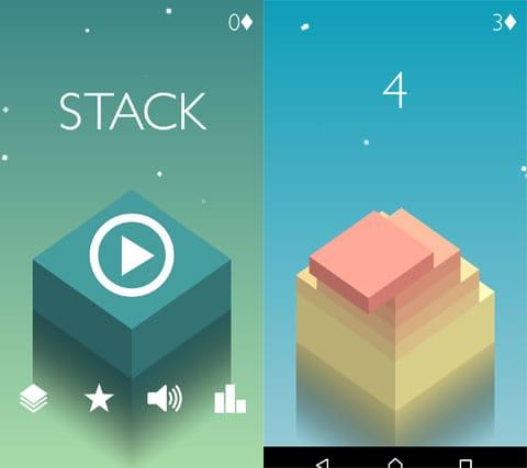 Stack:ブロックのグラデーションが重ねるほどに美しい