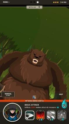 巨大ボス・・・やべぇよ、クマはやべぇって。