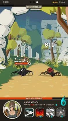 クモの動きがリアルでキモイ。