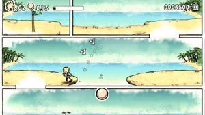 コミックによるムービーシーンに見えるかもしれないけど、これがゲームプレイ画面!コミックそのものがゲームになっているのだ。.jpg