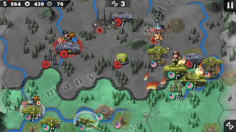 敵ユニット1を複数のユニットで包囲!確実に有利な状況を作るのだ。.jpg
