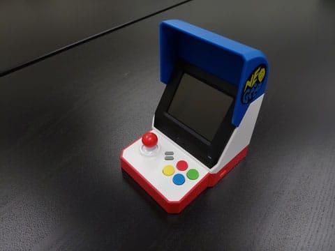 これが本体!まんま小さいゲーム筐体です