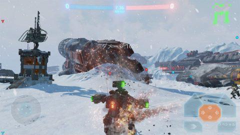 降る雪、爆発の炎と煙、TITANの鋼のボディ…どの表現も重厚でリアル!.jpg