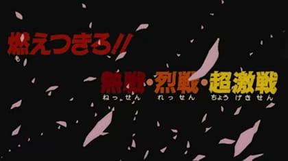 第11作目「劇場版 ドラゴンボールZ 燃えつきろ!!熱戦・烈戦・超激戦」