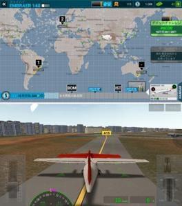 実在の飛行機で世界各地の空港へ、空の旅を楽しもう!