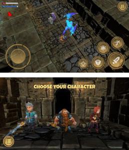ダンジョンを彷徨い冒険するオールドタイプのアクションRPGだ。.jpg
