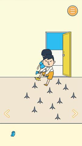 ゲットしたアイテムを使って、田中撃退のためのワナを設置!.jpg