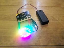 子供向けプログラミング「micro:bit」の使い方(その3)!NeoPixelを繋いでLEDを光らせよう