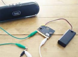 子供向けプログラミング「micro:bit」の使い方(その2)!スピーカーを繋いで音を鳴らそう