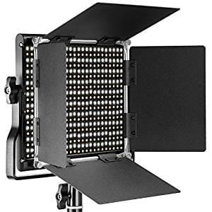 Neewer 調光可能な二色660 LEDビデオライト