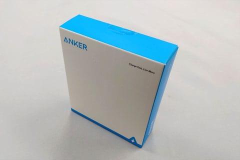 Anker PowerCore 10000 Reduxの商品パッケージ