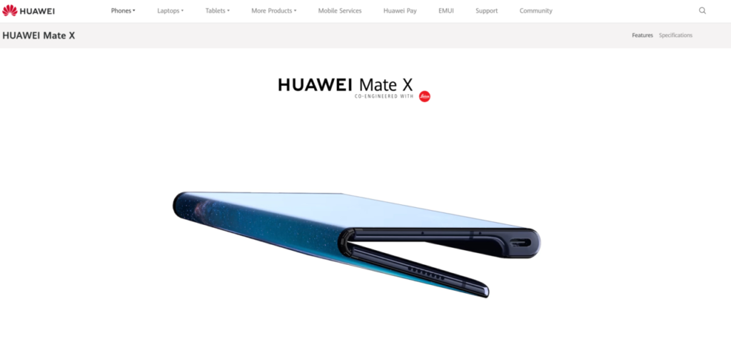 引用元:https://consumer.huawei.com/en/phones/mate-x/?ic_medium=hwdc&ic_source=corp_sbanner_matex#top