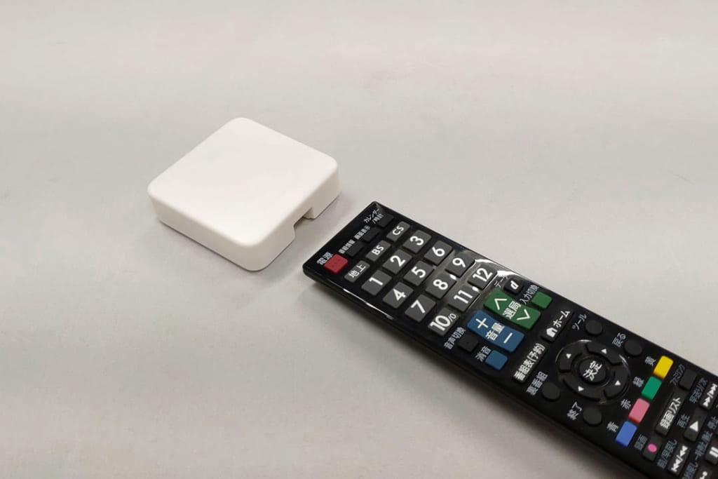 「SwitchBot ハブミニ」リモコンを向けてボタンを押せばOK