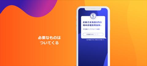 ユーザの負担0円で年間最大30,000円まで無料補償!