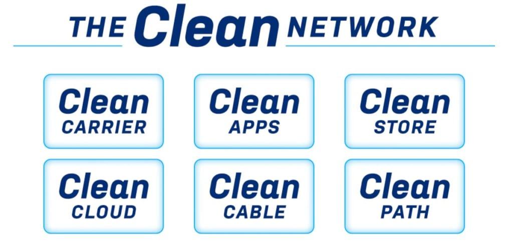 米国 Clean Networkイメージ画像