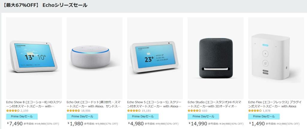 Amazon Echo Dot(アマゾン エコー ドット )1,980円キャンペーンとは?